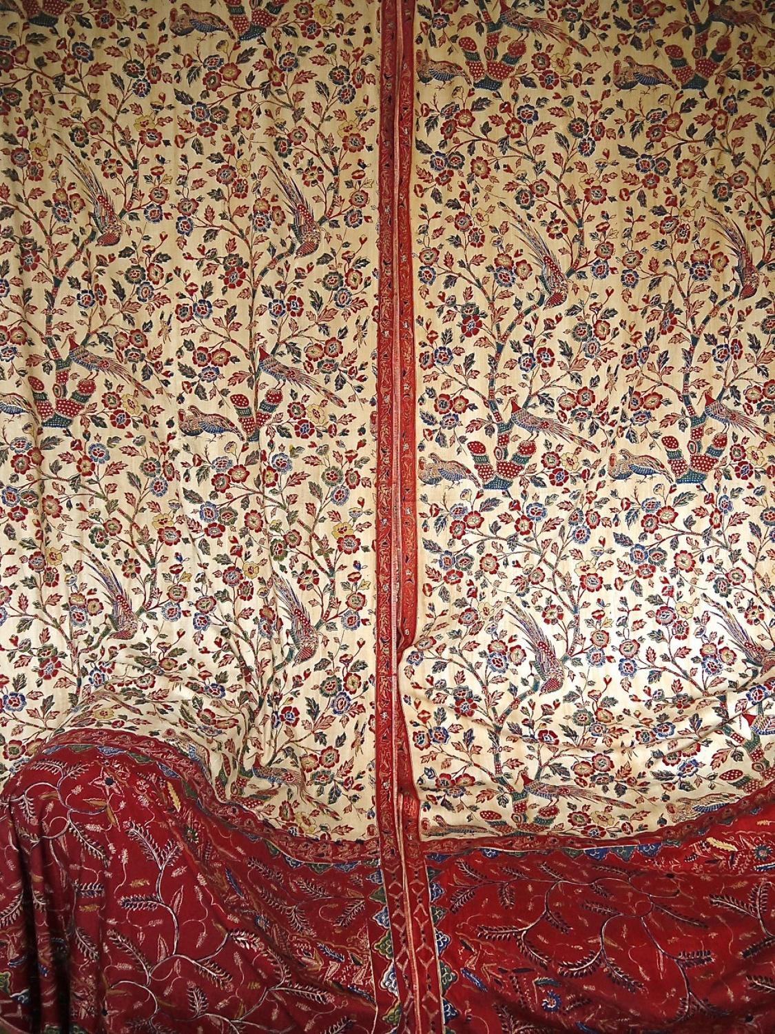 Pair of 19th century Blockprinted Panels