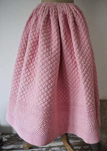 Early 19th century French Quilted Jupon