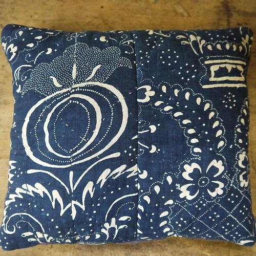 Indigo Lavender Cushion