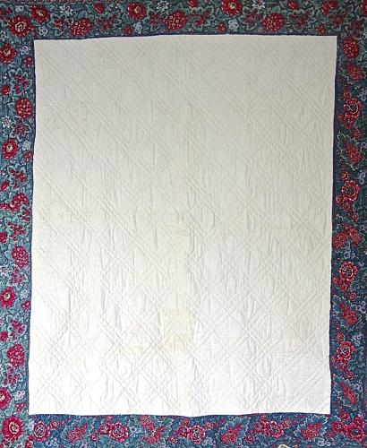Early19th century French Mouchoir Quilt