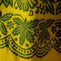 19th century Spanish Yellow Wool Skirt - picture 3