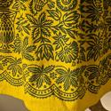 19th century Spanish Yellow Wool Skirt - picture 5