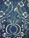 Late 18thc French Indigo Resist Cotton Quilt - picture 7