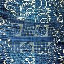 Late 18thc French Indigo Resist Cotton Quilt - picture 8