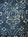 Late 18thc French Indigo Resist Cotton Quilt - picture 9