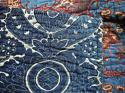 C1780s French Indigo Resist Cotton Quilt - picture 10