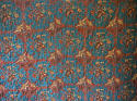 C1780s French Indigo Resist Cotton Quilt - picture 4
