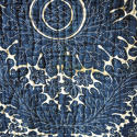 C1780s French Indigo Resist Cotton Quilt - picture 8