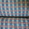 Pair of 19thc French Blockprinted Checked Cushions - picture 4
