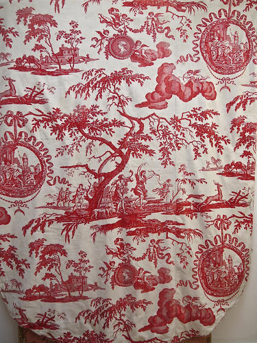 18thc French Toile de Nantes 'Diane'