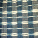 19th century French indigo flamme panel - picture 3
