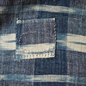 19th century French indigo flamme panel - picture 7