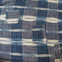19th century French indigo flamme panel - picture 8