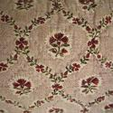 18th century French blockprinted flower cotton cushion - picture 2