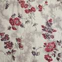 19th century French red and pink roses cotton quilt - picture 2