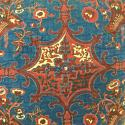19th century French block printed cushion - picture 3