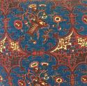19th century French block printed cushion - picture 4