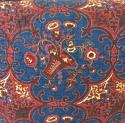 19th century French block printed cushion - picture 2