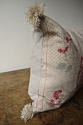 19th century French linen long block printed cushion - picture 6