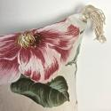 1950-60s English large-scale magnolia cotton cushion - picture 3