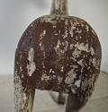 19th century French painted toy horse with iron head - picture 7