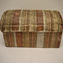 Early 19th century  French wallpaper covered box - picture 1