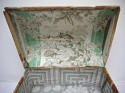 Early 19th century  French wallpaper covered box - picture 3
