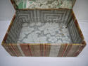 Early 19th century  French wallpaper covered box - picture 4