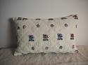 18th century French wool woven on  linen cushion - picture 1