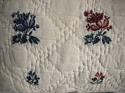 18th century French wool woven on  linen cushion - picture 3
