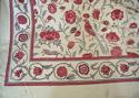 Early 20th century French birds and flowers linen - picture 5