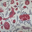 Early 20th century French birds and flowers linen - picture 7