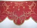 Pair of 18th century French silk damask pelmets - picture 2