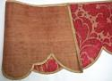 Pair of 18th century French silk damask pelmets - picture 6