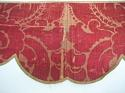 Pair of 18th century French silk damask pelmets - picture 9