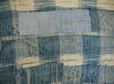 Late 18th century French indigo flamme and floral quilt - picture 12