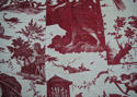 18th century French Toile de Nantes 'Le Char d'Aurore' - picture 9