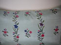 18th century Chinese hand-painted flowers cushion - picture 2