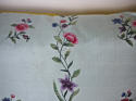 18th century Chinese hand-painted flowers cushion - picture 5