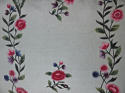 18th century Chinese hand-painted flowers silk cushion - picture 3