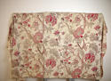 Late 19th century French faded indienne cotton panel - picture 2