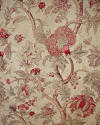 Late 19th century French faded indienne cotton panel - picture 3