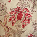 Late 19th century French faded indienne cotton panel - picture 4