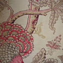 Late 19th century French faded indienne cotton panel - picture 6
