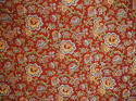 Circa 1800 French madder red and pastel large quilt - picture 4