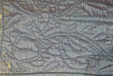 Early 19th century French blue bourette silk quilt - picture 7