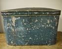 Pair of French 19th century blue hatboxes - picture 3