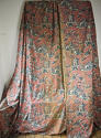 Pair of early 20th century large-scale Chinoiserie curtains - picture 2