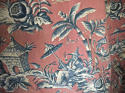 Pair of early 20th century large-scale Chinoiserie curtains - picture 4