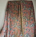 Pair of early 20th century large-scale Chinoiserie curtains - picture 7